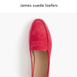 J. Crew James Suede Loafers